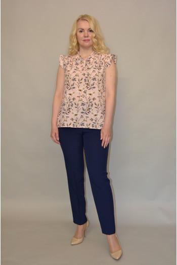 106.  Блуза из ткани Индо