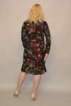 1112. Двойное Платье из Шифона и Индо