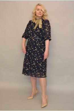 1116. Платье из Шифона