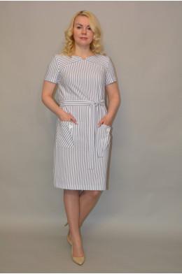 1117. Платье из Льна (Нет в наличии)