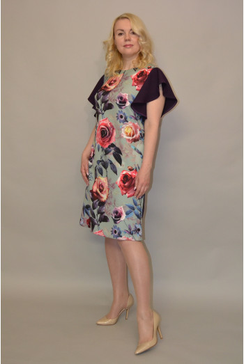 1121. Платье из Крепа