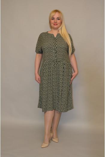1122. Платье из Штапеля