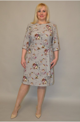 1127. Платье из Креп-Шифона