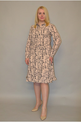 1129. Платье из Креп-Шифона