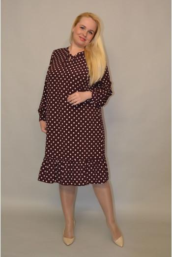 1130. Платье из ткани Индо