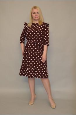 1131. Платье из ткани Индо
