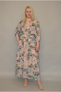 1134. Платье из Шифона