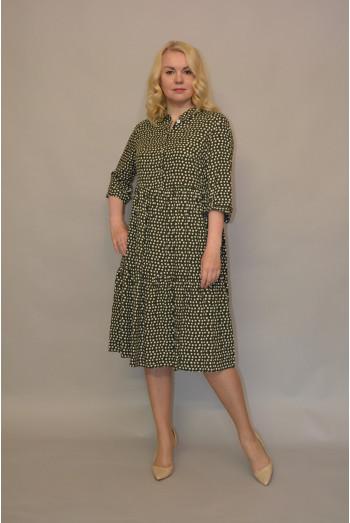 1138. Платье из Штапеля