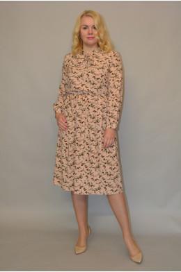 1142. Платье из ткани Индо