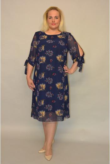 1145. Платье из Шифона