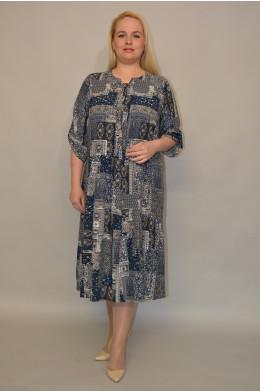 1140. Платье из Штапеля