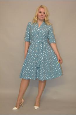1151. Платье из Крепа
