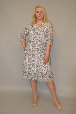 1152. Платье из Шифона