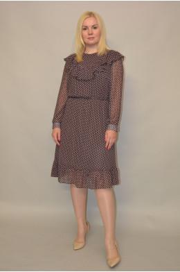 1158. Платье из Шифона