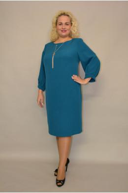 1163. Платье из ткани Креп
