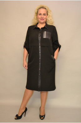 1164. Платье из ткани Креп