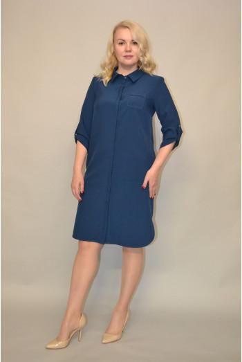 1166.  Платье из Костюмной ткани