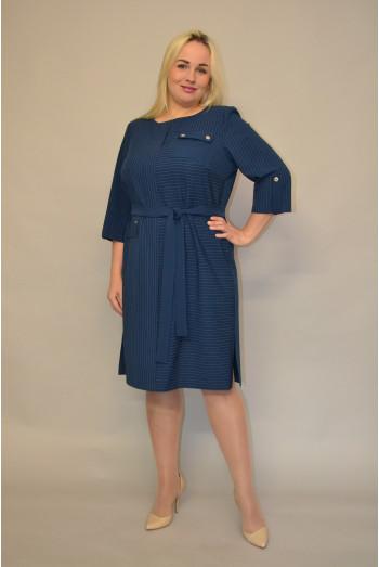 1167. Платье из костюмной ткани
