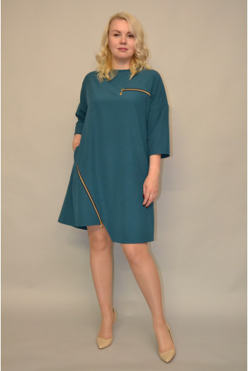 1169.  Платье из Крепа