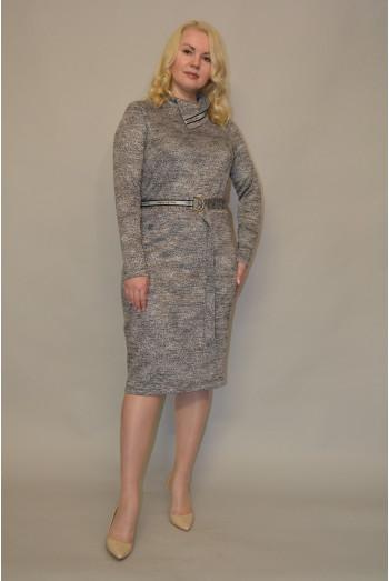 1179. Платье из Меланжевого полотна