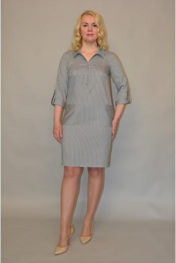 801/1. Платье  из летнего Джинса
