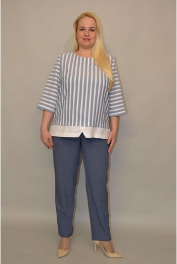 096. Блуза из Льна