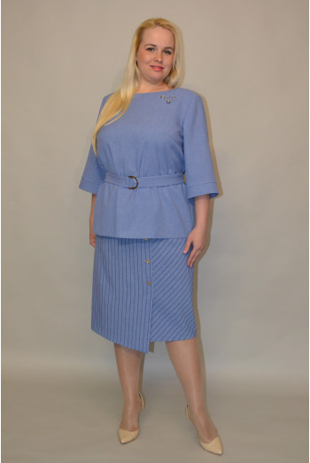 097. Блуза из Льна