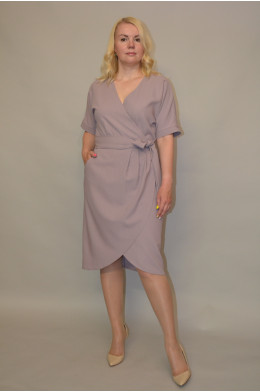 970. Платье из Крепа