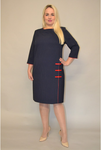 1174. Платье из Крепа