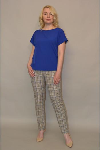 090. Блуза из ткани Индо