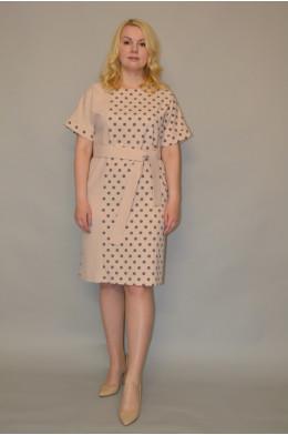 1012. Платье из льна