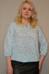 105. Блуза из ткани Индо