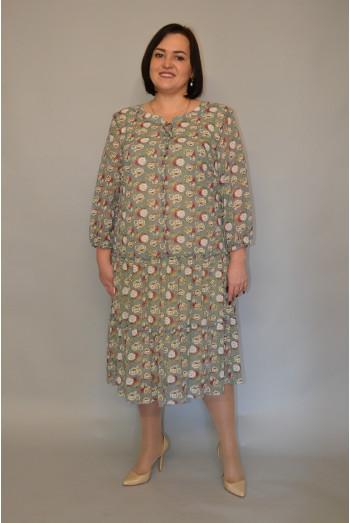 1125. Платье из Шифона