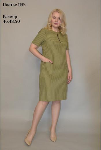 1135. Платье из Льна