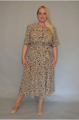 1144. Платье из ткани Индо