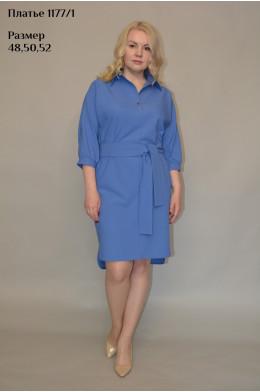 1177/1. Платье из ткани дабл-стрейч