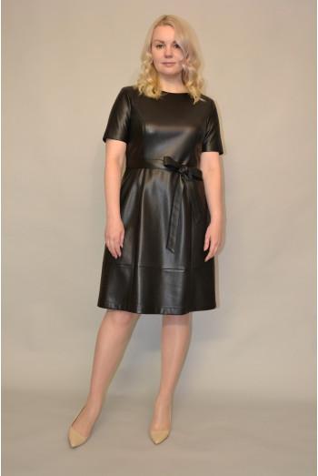1182. Платье из Экокожи