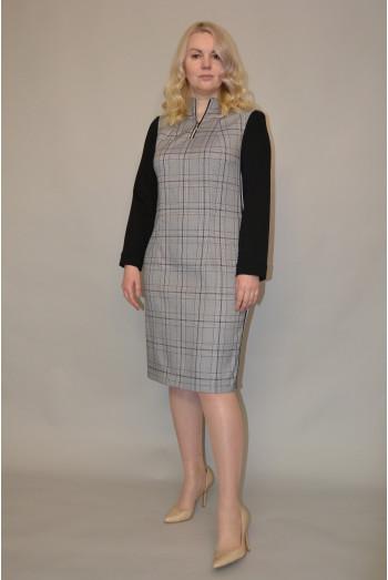 1183. Платье из Костюмной ткани