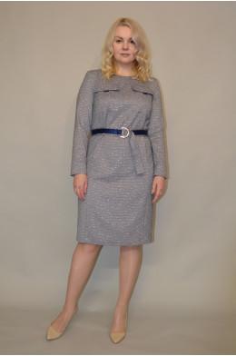 938. Платье из Костюмной ткани
