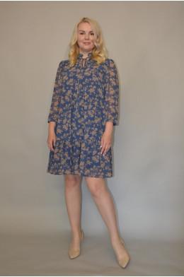 1186. Платье из Шифона