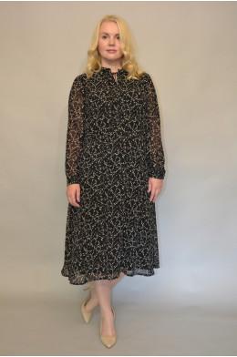 1187. Платье из Шифона