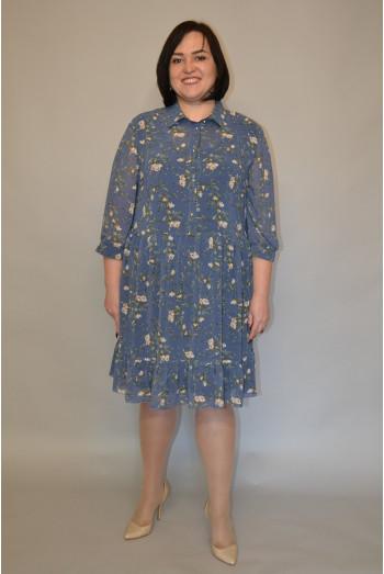 1190. Платье из шифона