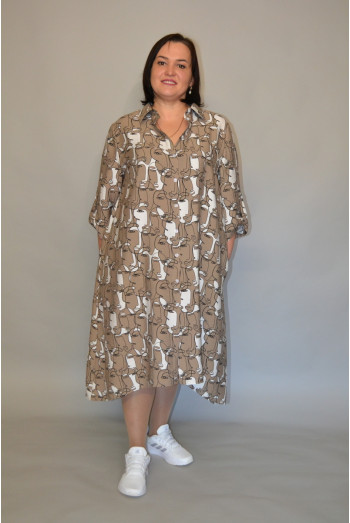 1193. Платье из хлопка