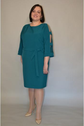 1195. Платье из крепа