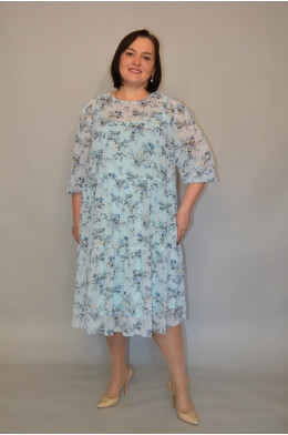 1196, Платье из шифона