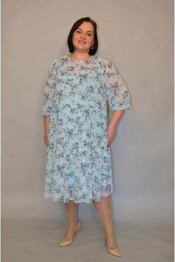 1196. Платье из шифона