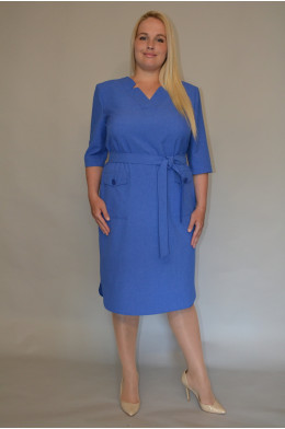 1206.Платье лен
