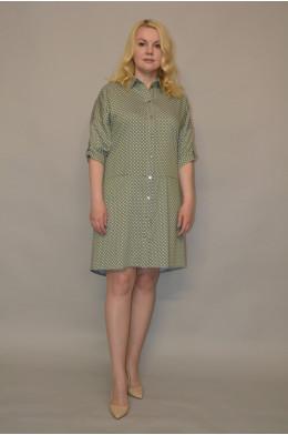 882/2.Платье из тонкой джинсы