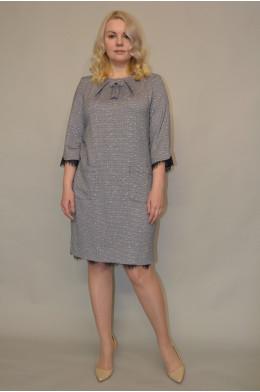 946. Платье из Костюмной ткани