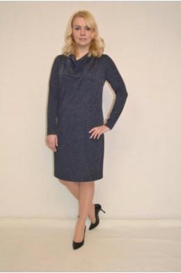831. Трикотажное платье с качелькой